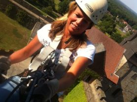 Abseiling Castle