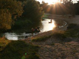 Canoeing Dinkel
